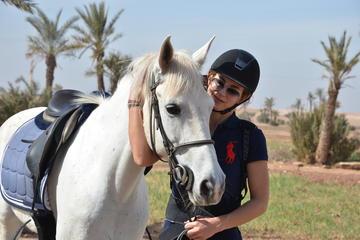 Tour giornaliero a cavallo e in quad nel deserto di Agafay da