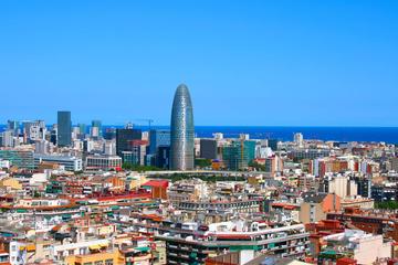 Halbtägige geführte Panorama-Tour im Bus und zu Fuß durch Barcelona