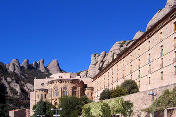 Tour giornaliero guidato delle attrazioni di Barcellona e Montserrat