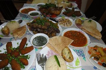 Egyptian Meal at a Local Egyptian House