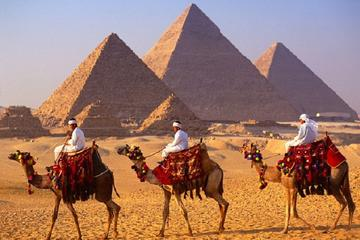 Half dayTour Pyramids of Giza Sphinx including Camel ride