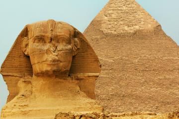 Pyramides de Gizeh, musée égyptien, Sphinx et souk Khan el-Khalili
