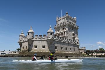 Viaje a Lisboa desde Cascais en kayak