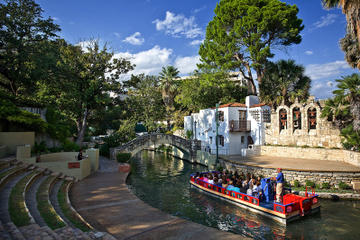 San Antonio River Walk Cruise and Hop-On Hop-Off Tour