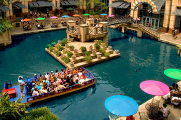 Day Trip San Antonio River Walk Cruise and Hop-On Hop-Off Tour near San Antonio, Texas