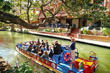San Antonio River Walk and Tower of the Americas
