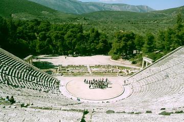 Ancient Corinth, Corinth Canal, Mycenae, Epidaurus, Nafplio:  Private day Tour