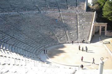 Excursão privada de 2 dias em Peloponeso: Antiga Corinto, Micenas...