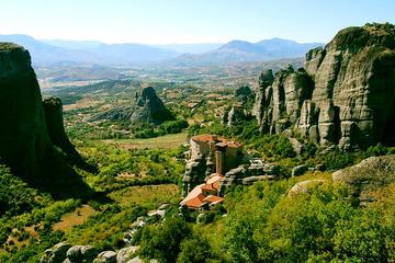 Tour privato di 3 giorni a Delfi Meteora Pilio e le Termopili da Atene