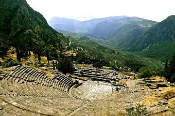 Tour privato giornaliero a Delfi e Arachova da Atene