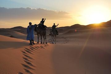Experiência de 4 noites no deserto saindo de Marraquesh