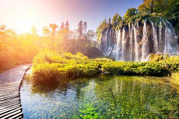 Plitvice lakes semi private tour from Zagreb