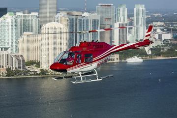 Der große Hubschrauberrundflug über Miami