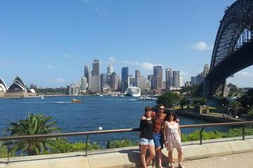 Tour privato panoramico di Sydney di un giorno intero comprendente