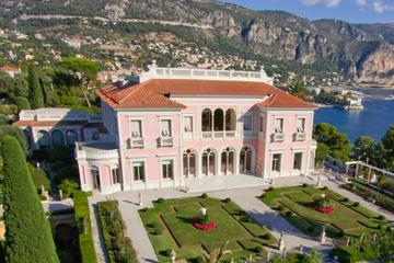 Half-Day Private Rothschild and Kerylos Villas Tour from Nice