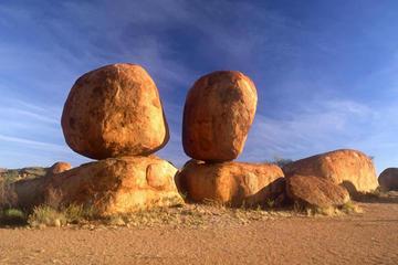2 Tage Alice Springs, Mataranka-Quellen, Devils Marbels, Edith-Fälle