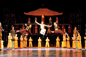 Private Evening Beijing Tour: Chinese Kungfu Show (VIP seats available)