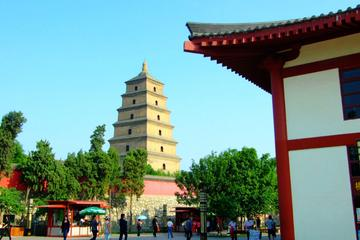 Xian Afternoon Tour to Big Wild Goose Pagoda and Qujiang Pool