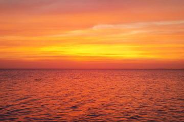 Champagner-Bootstour bei Sonnenuntergang von St. Maarten aus