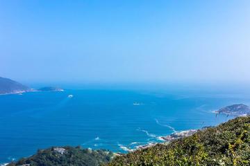 香港島ドラゴンズ バック ハイキング ツアー