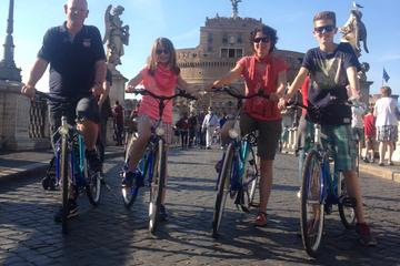 Recorrido en bicicleta por Villa Borghese en Roma