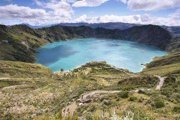 Visite privée nocturne de Antisana Quilotoa au départ de Quito