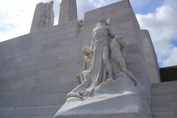 Canadian Somme and Flanders battlefield tour 2 days starting from Lille