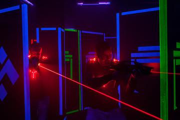 Laser Tag Session in Bratislava