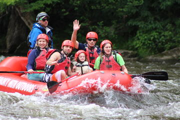 Day Trip Lower Pigeon River Rafting Tour near Hartford, Tennessee