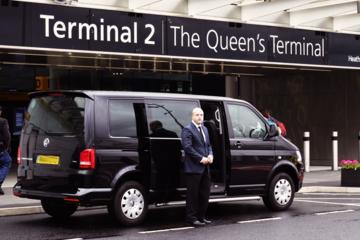 Trasferimento privato all'arrivo dall'aeroporto di Heathrow al centro