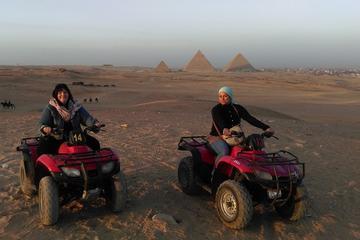 Half-Day Giza Pyramids Quad Bike Tour from Cairo