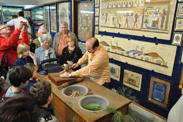 Papyrus Manufacturing Tour and learn Papyrus making in Egypt