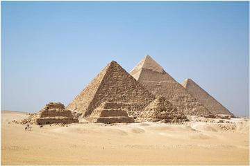 Tour giornaliero privato alle piramidi di Giza e al Cairo durante lo