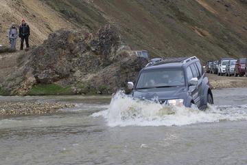 Tour di un giorno in jeep a Landmannalaugar da Selfoss