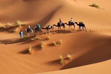 Aventure privée de 3jours dans le désert de Merzouga au départ de Fès