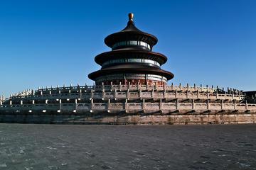 Excursão ao Templo do Céu e com aula de Tai Chi