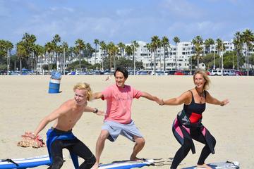 Privater Surf Kurs an Venice Beach