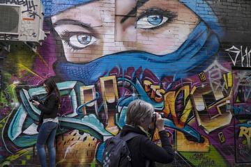 Fototoure in den Gassen von Melbourne