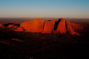 Vuelo en helicóptero con vistas por Kata Tjuta y Uluru