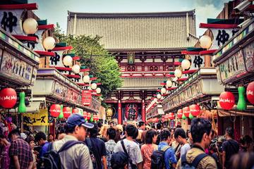 Hello Tokyo-Spaziergang: Meiji Jingu, Senso-ji und Harajuku