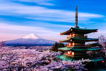 Photogenic Mount Fuji and The Itchiku...
