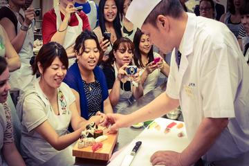 Visita ao Mercado Tsukiji, aula de...
