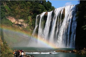Huangguoshu Waterfall and Dragon...