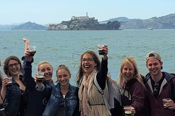 Kombi-Tour: Alcatraz und Rundgang mit traditionell gebrautem Bier