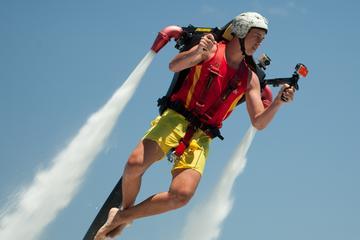 ゴールド コーストでのジェットパック、フライトボード、ジェットベーター飛行体…