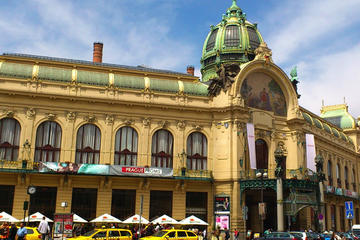 Art Nouveau And Cubist Architecture Walking Tour in Prague