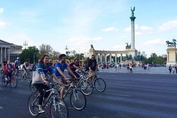 Bicycle Budapest 4-hour Small Group Excursion with a Historian