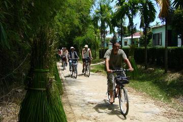 Excursão de bicicleta pela zona rural...