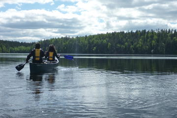 Half-Day Wilderness Canoeing Adventure in Nuuksio National Park from...