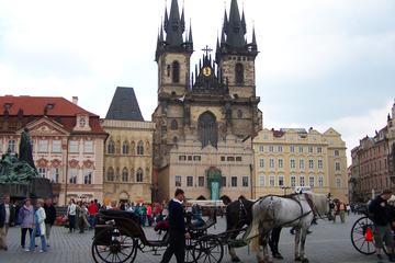 Stadstour van een halve dag door Praag, inclusief riviercruise over ...